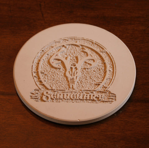 Engraved Coasters. Set of 4