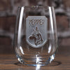 Dog Lover's Wine Glass, Man's Best Friend Gift Ideas