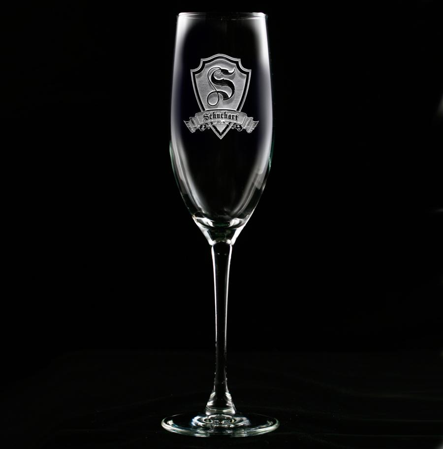 Personalized Toasting Glasses. Anniversary Champagne Flutes