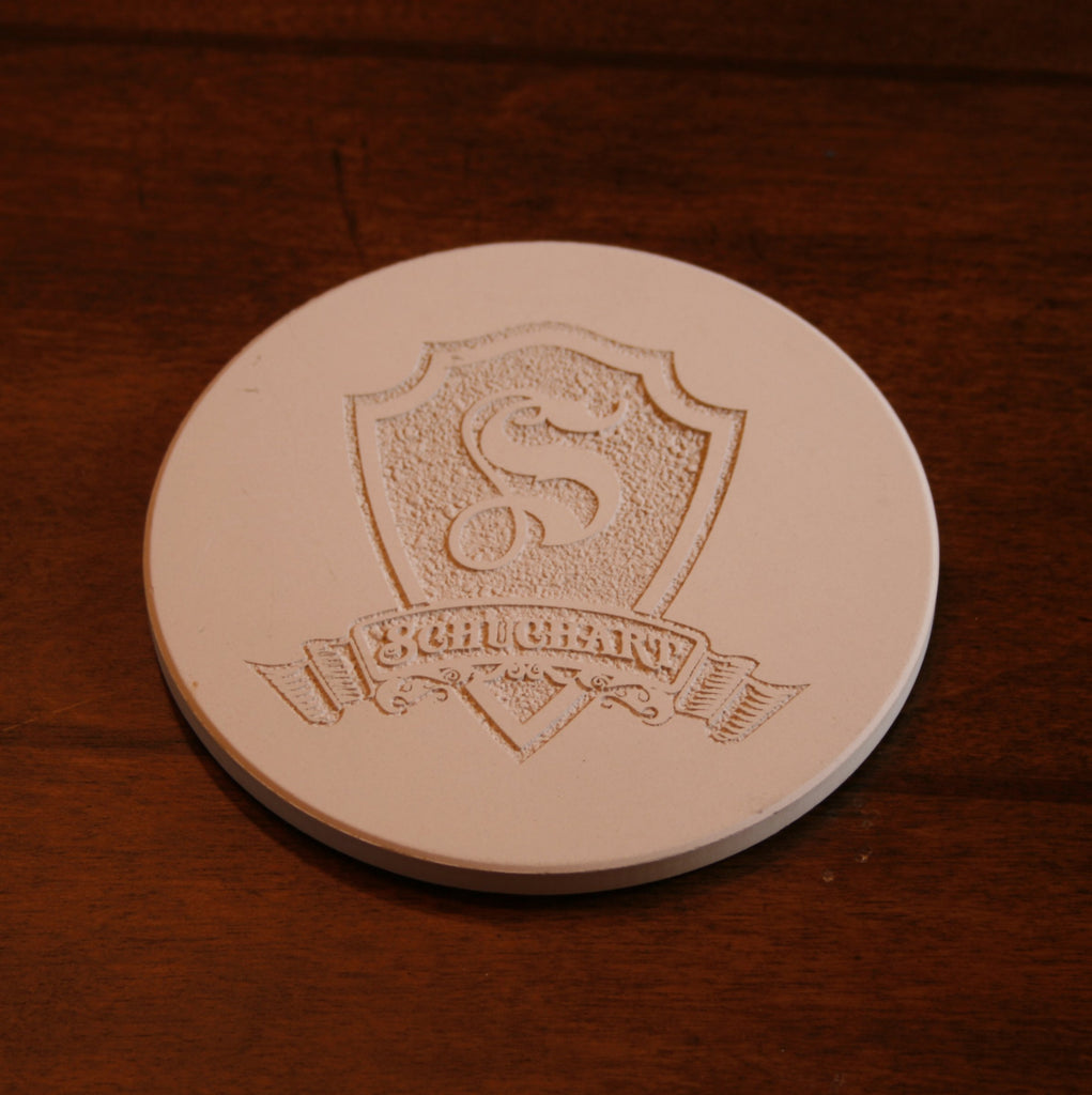 Custom Sandstone Coasters. SET OF 4