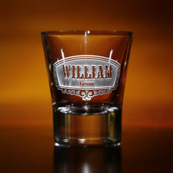 Engraved Groomsman Shot Glass Gift Ideas