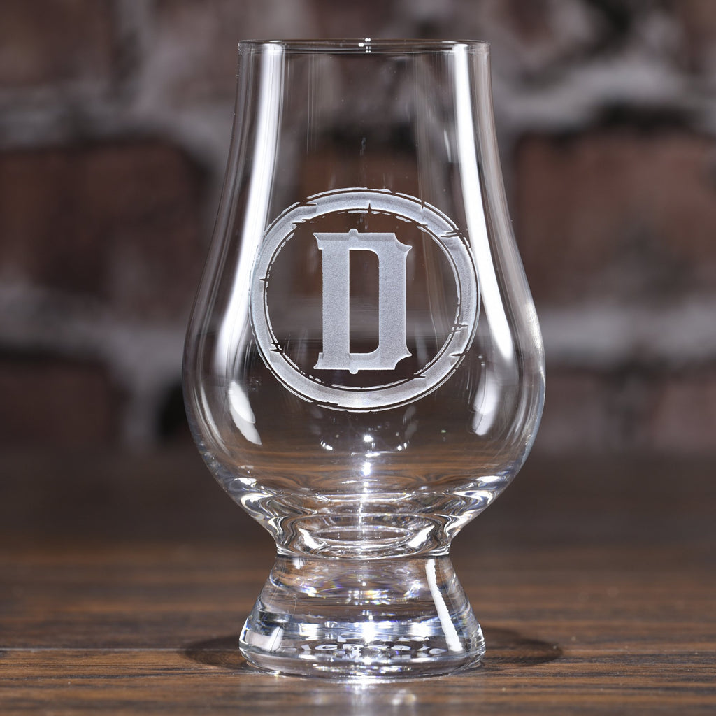 Custom Engraved Glencairn Scotch Whisky Glass