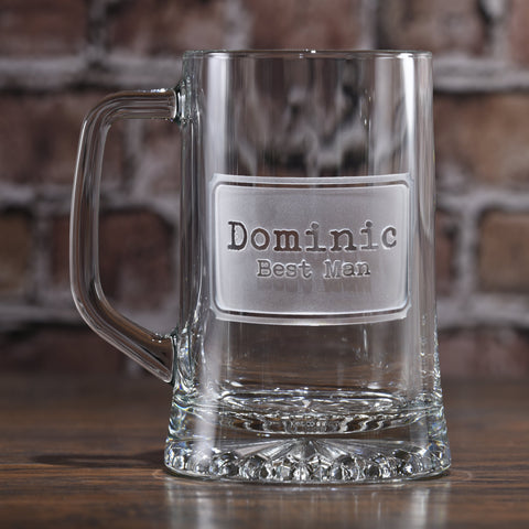 Best Man Groomsmen Beer Mugs. Groomsmen Gifts Ideas