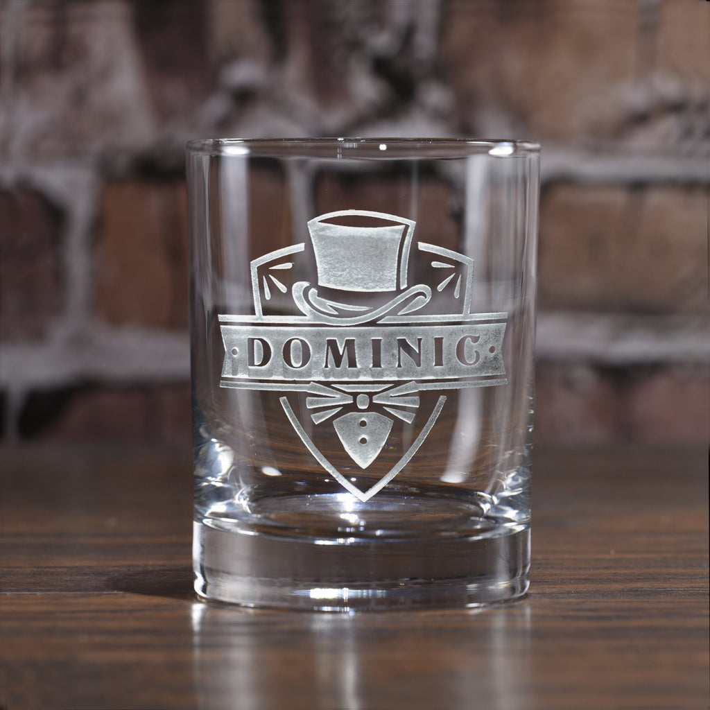 Groomsmen Whiskey Glasses. Scotch Bourbon