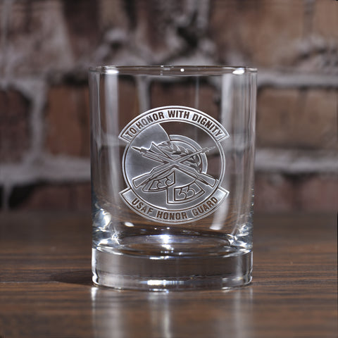 Honor Guard Whiskey Glass