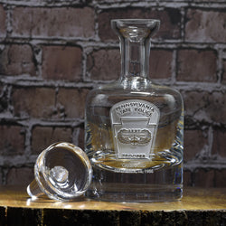 Logo Engraved Decanter