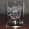 Logo Standard Bourbon Whiskey Glass (Set of 4)