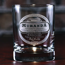 Logo Standard Bourbon Whiskey Glass