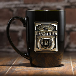 Premium Brand Label Custom Coffee Mug