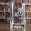 Zodiac Sign Beer Mug Gift