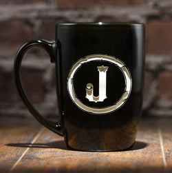 Engraved Monogrammed Coffee Mug