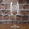 Monogrammed Engraved Personalized Wine Glass Gifts