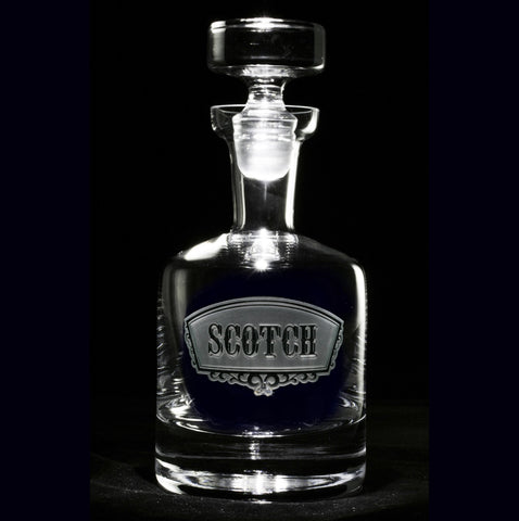 Scotch Banner Decanter