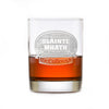 Scottish Slainte Mhath Engraved Rocks Whisky Glass Gift