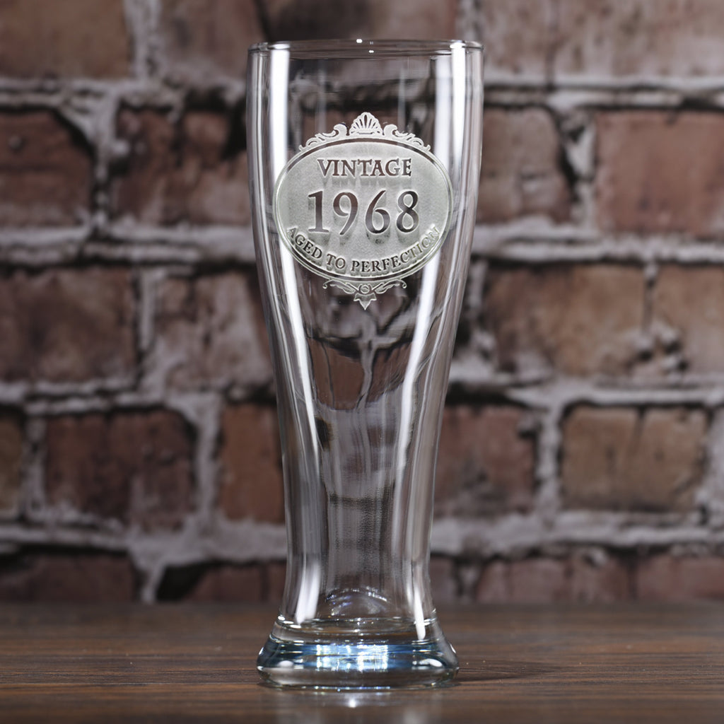 Birthday Pilsner Beer Glass