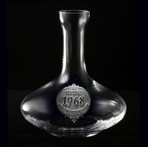 Vintage Year Wine Decanter