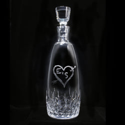 Lismore Essence Decanter. Engraved