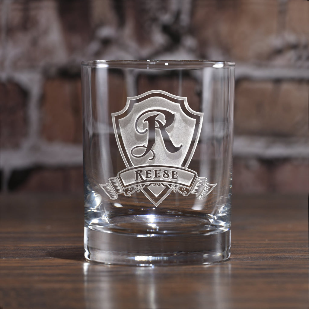 Whiskey Glasses. Scotch Bourbon Engraved Personalized