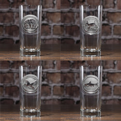Wildlife Animals Highball Glasses