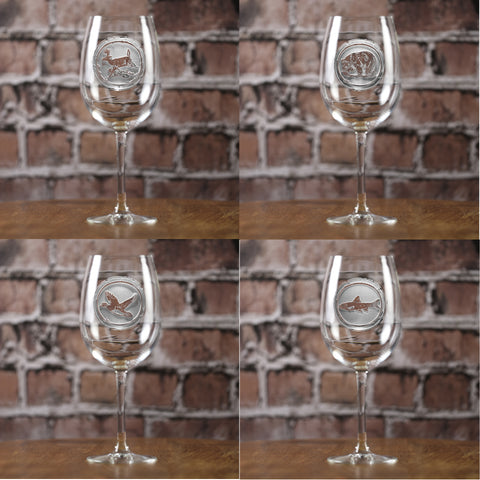 Nature Lover Wine Glass Set