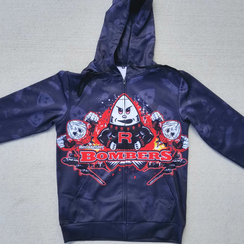 Bomber Generations Sublimated Zip-Up Hoodie
