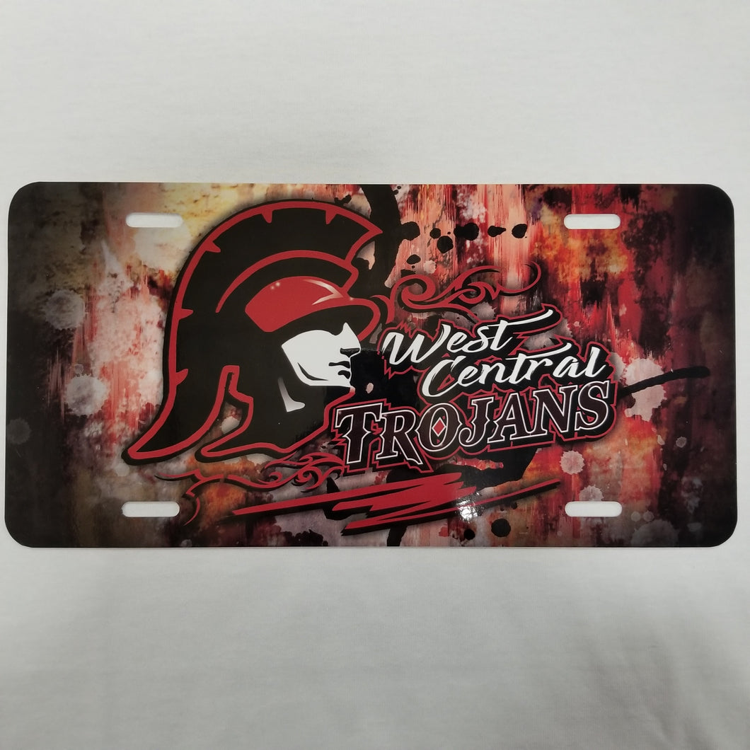 West Central License Plate