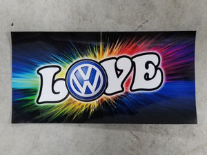 VW Love Sticker