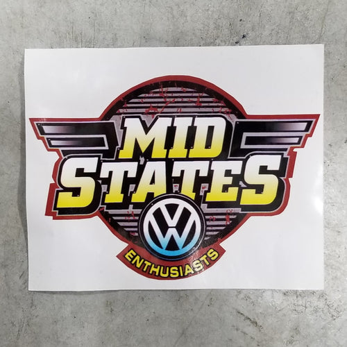 Mid States Sticker
