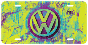 VW License Plate
