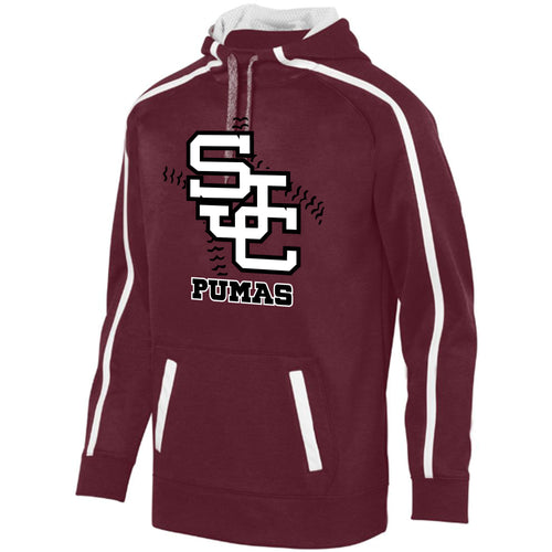 SJC Baseball Heather Hoodie