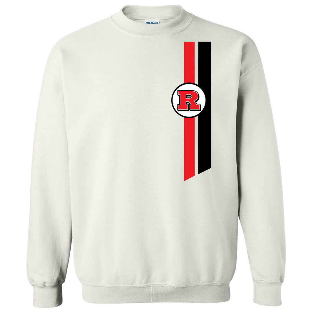 Bomber Basketball Sweatshirt (White)