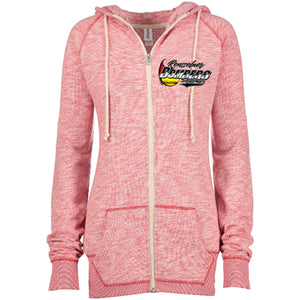 Bomber Softball Ladies Full Zip Hoodie
