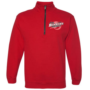 Bomber Softball Quarter Zip Fleece