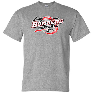 Bomber Softball Softstyle T-shirt