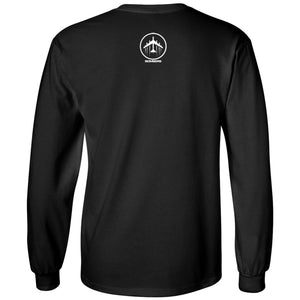 Bomber Basketball Long sleeve T-shirt (Black)