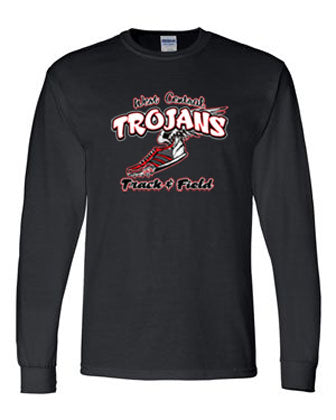 Trojan Track Dri-Fit Long Sleeve T-Shirt