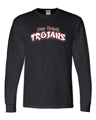 Trojan Text Dri-Fit Long Sleeve T-Shirt