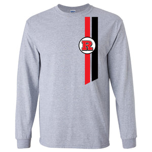 Bomber Basketball Long sleeve T-shirt (Sport Gray)