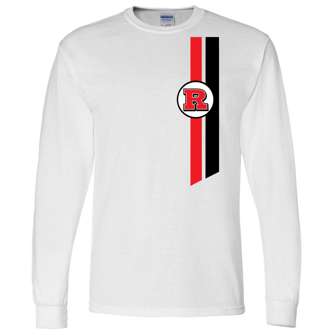 Bomber Basketball Long sleeve T-shirt (White)