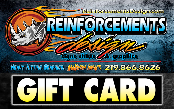 Reinforcements Gift Card