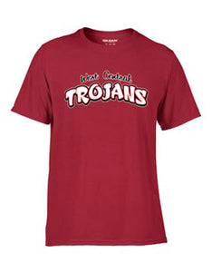 Trojan Track Text Dri-Fit T-Shirt
