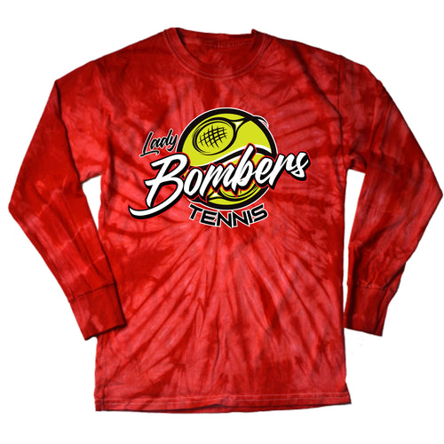 Bomber Tennis Tie Dye Long sleeve