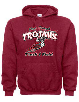 Trojan Track Hooded Sweatshirt