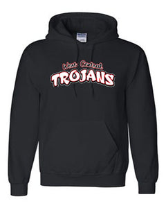 Trojan Text Hooded Sweatshirt