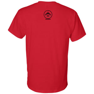 Bomber Basketball Soft Style T-shirt (Red)
