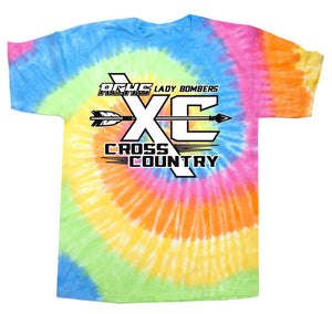 Tie-dye Cross Country T-shirt
