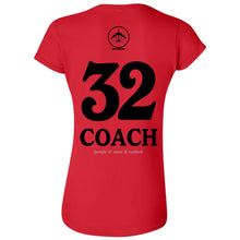 Bomber Basketball Soft Style Women's T-shirt (Red)
