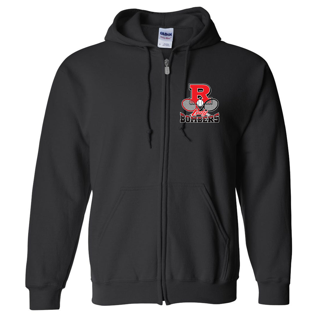 Lady Bomber Tennis Zip Up Hoodie