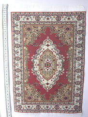 LARGE Dolls house Turkish RUG/ CARPET [1E] 12th scale