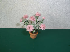 PINK  DAHLIA KIT 'semi cactus' 24TH scale